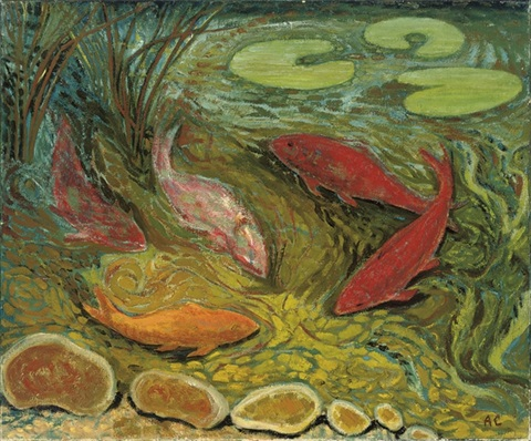 five fish 2 others 3 works by anne e christopherson
