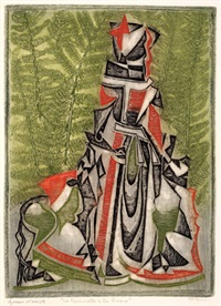 la damoiselle de la licone (+ reiter; 2 works) by marcel fiorini