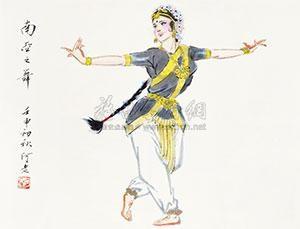 南亚舞蹈 by a lao