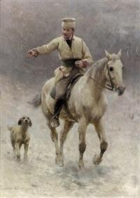 ritt durch den schnee by sigismund ajdukiewicz