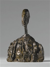 petit buste d'homme by alberto giacometti