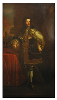 king george i of england by john camillus hone