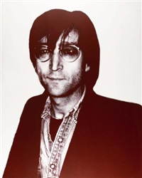 icons: john lennon by christopher makos