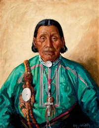 chief brown eagle by kathryn woodman leighton