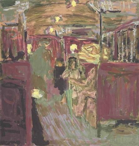 le wagon de métro i by edouard vuillard