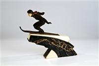 der skispringer by jaquemin