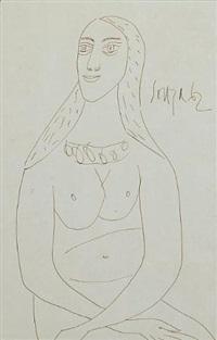 Francis newton souza nude in profile