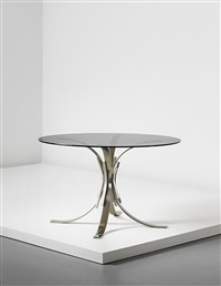 gerbe table, model no. 56a by maria pergay