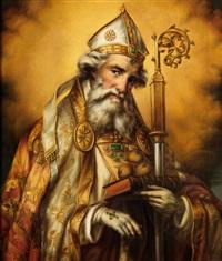 bildnis des heiligen nikolaus by albert renne