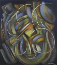 abstract composition by alfons klühspies