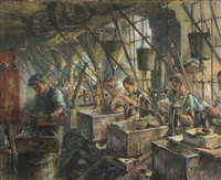 factory workers by hendrik jan wolter