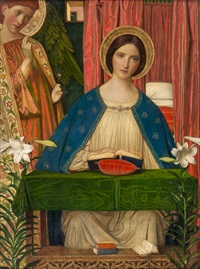 the annunciation by arthur joseph gaskin