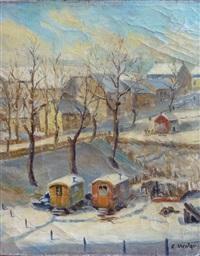 landscape by nikolai efimovich timkov