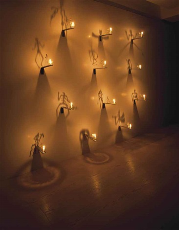 shadows from the lesson of darkness in 12 parts by christian boltanski