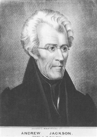 andrew jackson, president of the united states by ralph eleaser whiteside earl