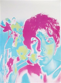 limited edition beatles posters (set of 4) by richard avedon