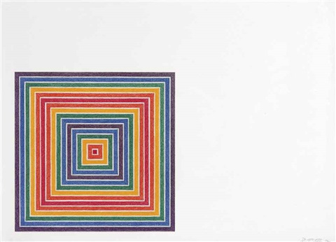 honduras lottery co by frank stella