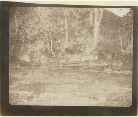 the rivulet that runs at the base of castle doone scotland by william henry fox talbot