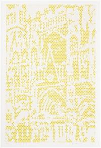 cathedral #1 by roy lichtenstein