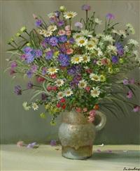 vase de fleurs by andré robert