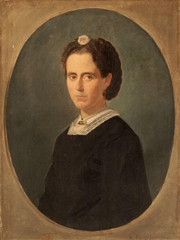 retrato de señora by manuel cabral aguado bejarano