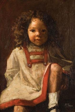 petit fille aux socquettes blanches by kurt peiser