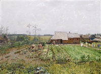 after the rain by nikolai nikanorovich dubovskoy