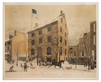 commissioners hall, northern liberties, phila by thomas m. scott