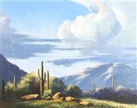 alpine desert scene by curt walters