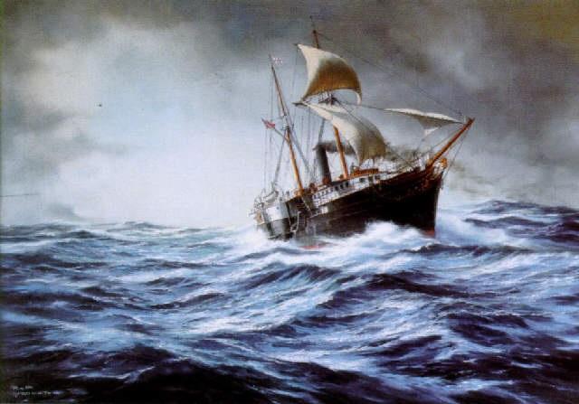 Santiago - Type of ship: Dredger - Callsign: LXNT - vesseltracker.com