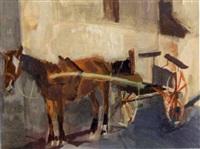 la carriole à cheval by jean le merdy