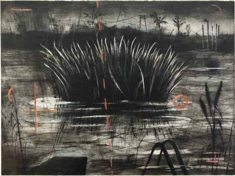 reeds by william kentridge