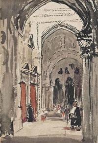 cathedral, córdoba by william nicholson