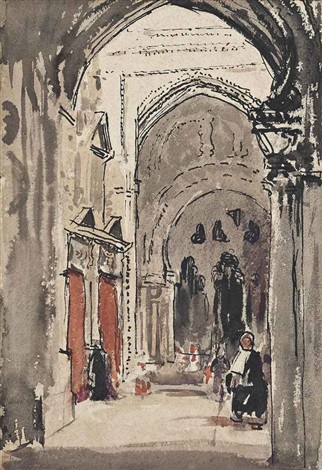 cathedral córdoba by william nicholson