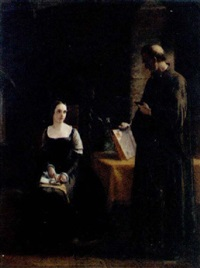 the controversy between lady jane grey and feckenham, who was sent to her from the queen, two days before her death, to convert her to romanism... by james clarke hook