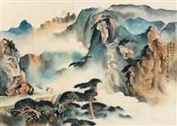 松山观云 by zhou yihong