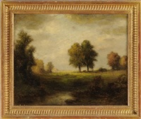 summer landscape by albert babb insley