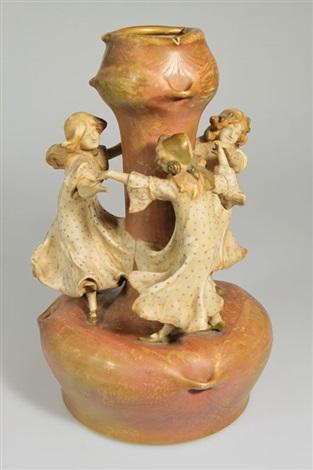 vase by amphora werke reissner