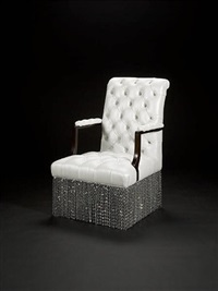 ladies smoking chair by argent design