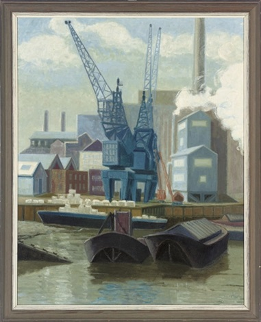 dreadnought wharf greenwich 4 others 5 works by anne e christopherson