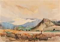 landscape by charles e. peers