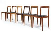 chairs (set of 6) by julius jirasek