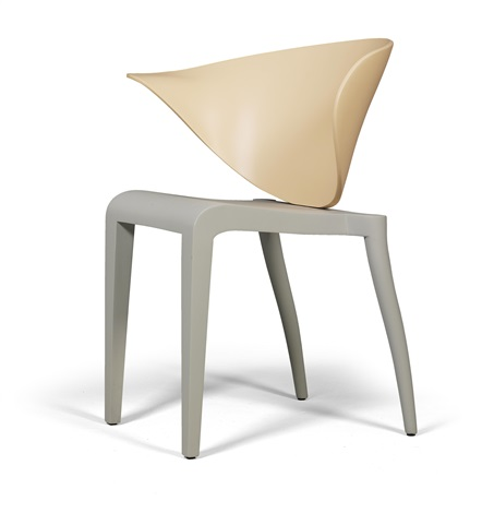A Boomerang Stacking Chair By Philippe Starck