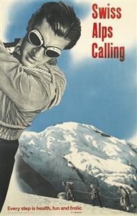 swiss alps calling by hans aeschbacher
