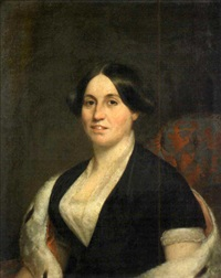 portrait of henrietta clark by chester harding