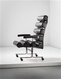 unique prototype roll armchair by joe colombo