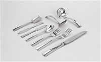 sunset flatware (45 pieces) by allan adler