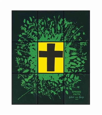 spring faith in 9 parts by gilbert and george