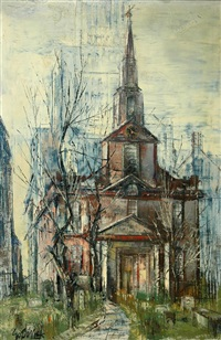 st. paul's chapel by stanley sobossek