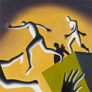 artwork by mark kostabi